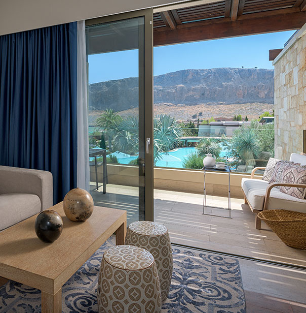Luxury Resort Hotel in Rhodes - Exclusive Guestrooms